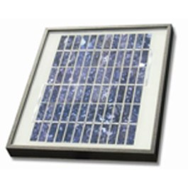 GTO FM122 Solar Panel 5Watt 300mA with all Mounting Equipment