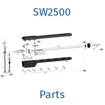 GTO / Linear Pro sw2500 gate opener parts