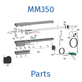 Mighty Mule MM350 gate opener parts
